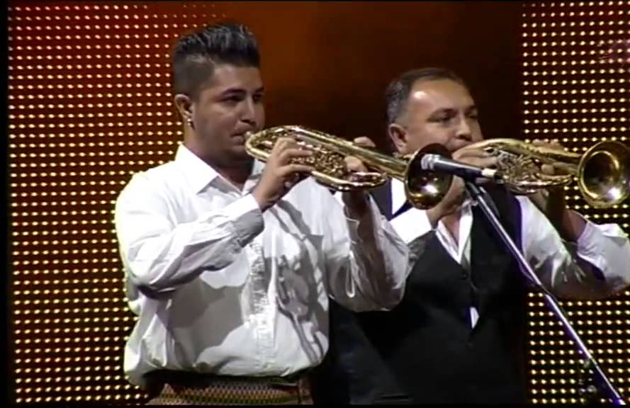 First brass band Nenad Mladenović from Vranje